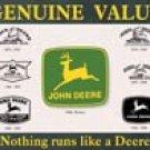 John Deere tractor  tin sign #868