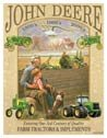 John Deere tractor  tin sign #985