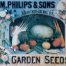 Garden Seeds tin sign #173
