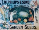 Garden Seeds tin sign #173
