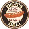 Dick Sausage tin sign #1191
