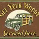 Woody Service tin sign #1192