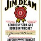 Jim Beam tin sign #1061
