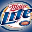 Miller Lite tin sign #1080