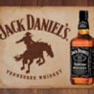 Jack Daniels tin sign #1136