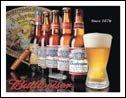 Budweiser Beer tin sign #1155