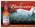 Budweiser Beer tin sign #1282