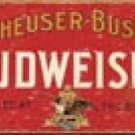 Budweiser Beer tin sign #1283