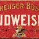 Budweiser Beer tin sign #1283