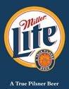 Miller Lite tin sign #872