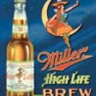 Miller Beer tin sign #978