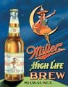 Miller Beer tin sign #978