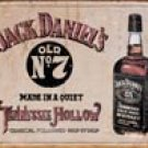 Jack Daniels tin sign #1419