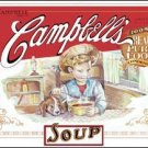 Campbell Soup tin sign #1089