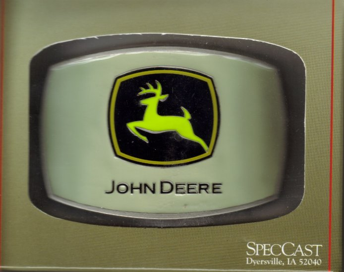John Deere Belt Buckle #603
