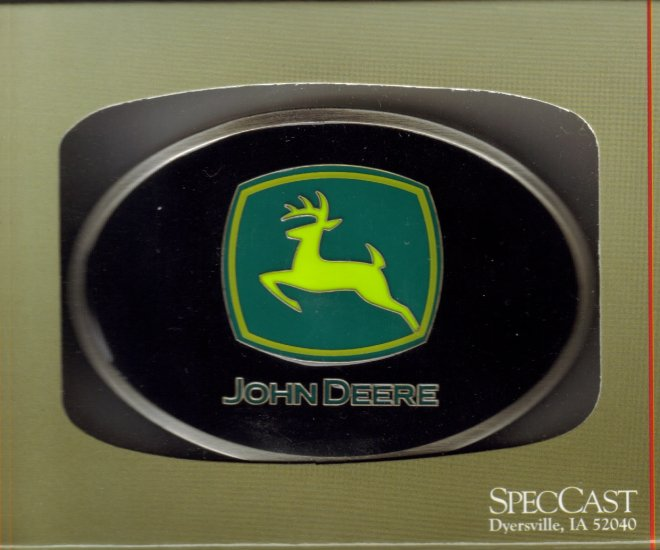 John Deere Belt Buckle #602