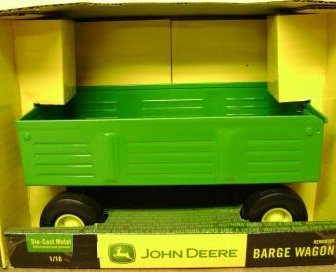 Ertl John Deere Diecast Barge Wagon Farm Toy 1:16 Scale