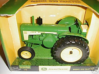 Ertl John Deere 830 Diecast Collectible Tractor 1:16