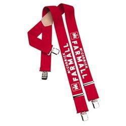 International Harvester Farmall Suspenders XXL Big+Tall