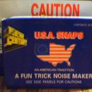 (3) Boxes of Snap Pops Noise Makers Novelty Gift