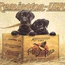 Remington Hunting Black Lab Tin Sign #932