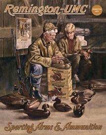 Remington Duck Decoy Maker Tin Sign #929