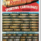 Remington Sporting Cartridges Tin Sign #1001