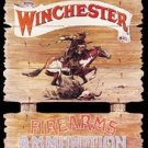 Winchester Express Horse Rider Tin Sign #939