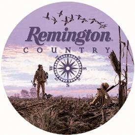 Remington Country Round Tin Sign #974
