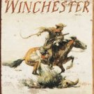 Winchester Logo Tin Sign #1421