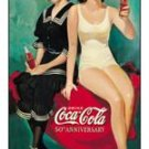 Coke 50th Bathers Tin Sign #1073