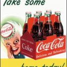 Coke Sprite Boy Tin Sign #1050