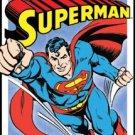 Superman Tin Sign #1402
