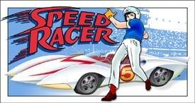 Speed Racer Tin Sign #1262