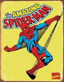 Spiderman Tin Sign #1437