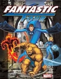 Fantastic Four Tin Sign #1222