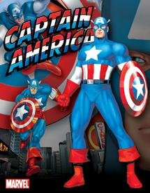 Captain America Tin Sign #1220