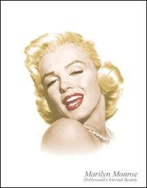 Marilyn Monroe Tin Sign #1214