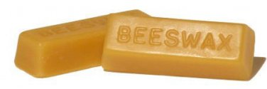 100% Pure Bees Wax Blocks Beeswax - 2 x 1 oz natural Lubricating Compound, *etc*