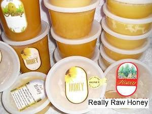 2 Lb RAW WASHINGTON BLOSSOM HONEY UNFILTERED COLD EXTRACTED