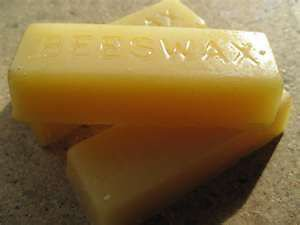 2 ea - One Ounce Cake of Bees Wax For Billiard Pool Table Slate Recovering Jobs