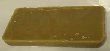 2 Lb DARK BEESWAX FROM BUCKWHEAT 100% ALL NATURAL AND RAW BEES WAX Free Shipping!