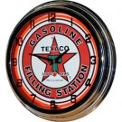 Clock- Texaco Filling Station