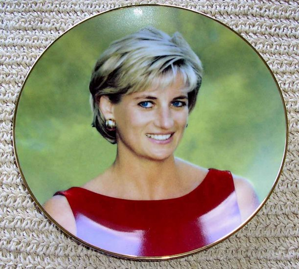 PRINCESS DIANA THE PEOPLES PRINCESS PLATE BEAUTIFUL!!