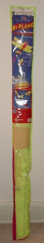 TOP OF THE LINE BI-PLANE 5 FOOT AIRSHOW KITE BRAND NEW!