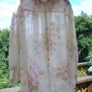 VICTORIA'S SECRET Top/Cover-Up/Robe GORGEOUS Size LARGE BRAND NEW WITH TAGS Matches NEGLIGEE!