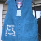 LOONEY TUNES BLUE SUEDE VEST BRAND NEW BUGS BUNNY!