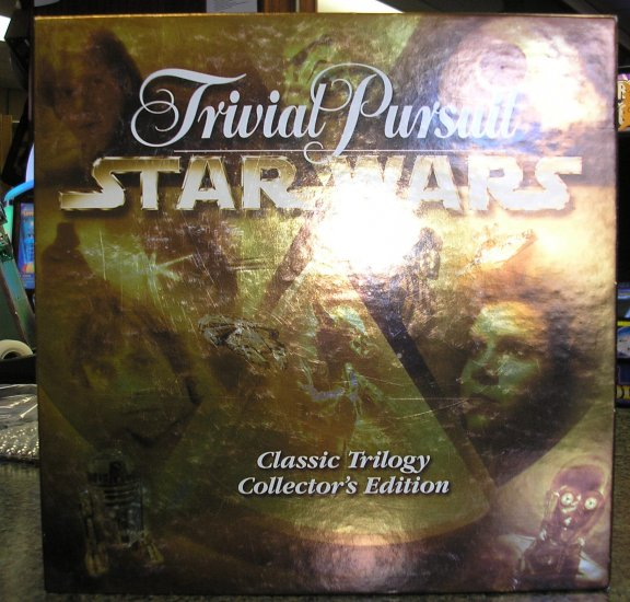 STAR WARS Trivial Pursuit Classic Trilogy Collector's Edition by Parker Brothers
