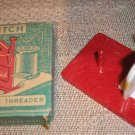 "VINTAGE ""WITCH"" NEEDLE THREADER - WEST GERMANY - NEW IN BOX"