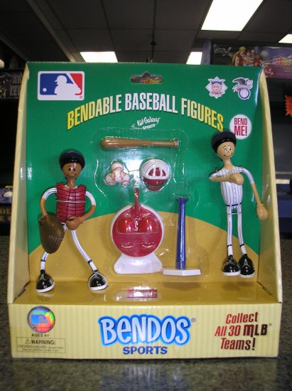 Kid Galaxy New York YANKEES Bendo Playset - BRAND NEW - GREAT FOR GIFTGIVING!